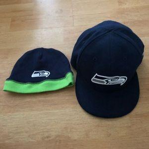 Seahawks Infant Beanie & Hat